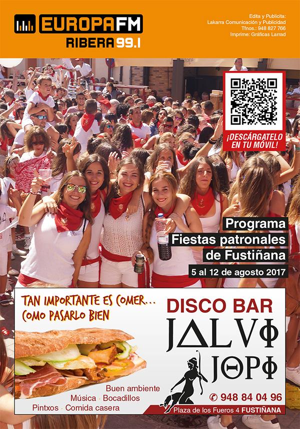 programa EUFM Fiestas de Fustiñana 2017