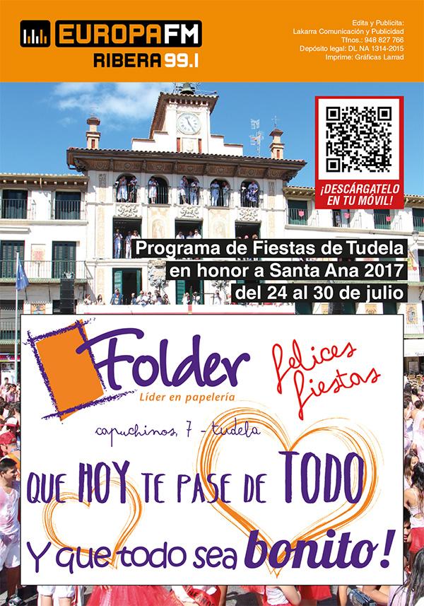 Programa de Fiestas de Tudela 2017
