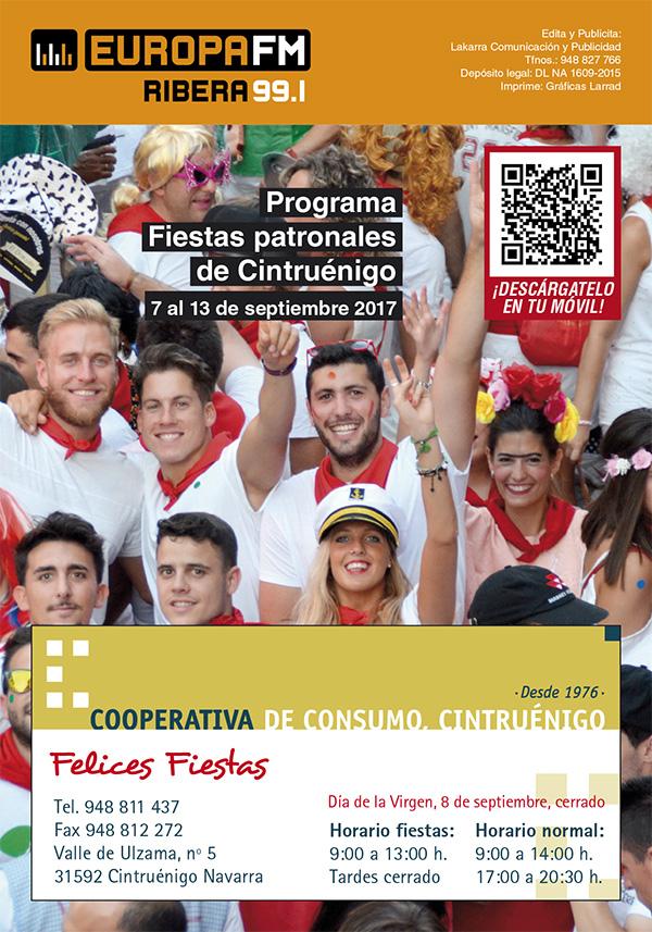 programa EUFM Fiestas de Cintruénigo 2017