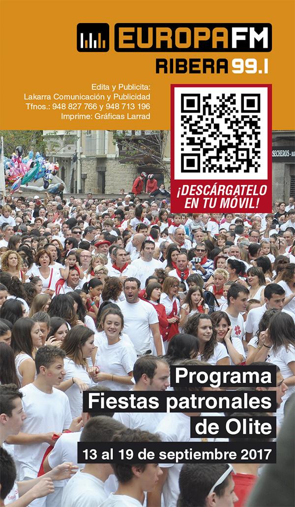 programa Fiestas de Olite 2017 Fiestas Patronales Septiembre